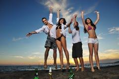Partido de la playa Fotos de archivo