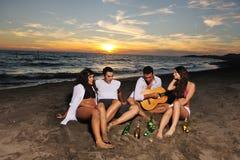 Partido de la playa Imagenes de archivo