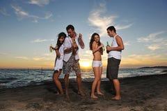 Partido de la playa Fotos de archivo libres de regalías
