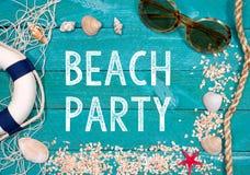 partido de la playa Fotografía de archivo libre de regalías