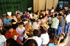 Partido de la reunión de Trirat Suksa Imagenes de archivo