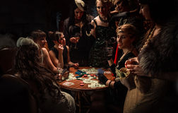 Partido de la soltera Fotografía de archivo libre de regalías