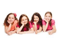 Partido de las muchachas Foto de archivo libre de regalías
