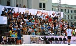 Partido de los riverbanks 24 torneos del baloncesto de la hora Imagen de archivo