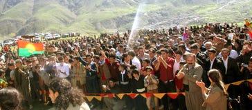 Partido de Newroz Fotografía de archivo