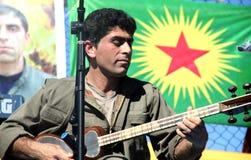 Partido de Newroz Fotos de archivo
