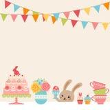 Partido de Pascua ilustración del vector
