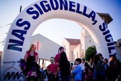 Partido de Sigonella Dia das Bruxas Fotos de Stock Royalty Free