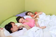 Partido de sueño foto de archivo libre de regalías
