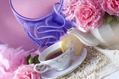 Partido de té Imagenes de archivo