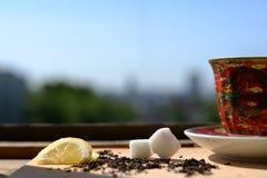 Partido de té Fotos de archivo libres de regalías