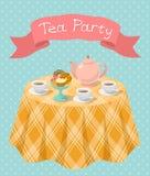 Partido de té Fotografía de archivo libre de regalías