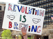 Partido de té de Philadelphia Imagen de archivo libre de regalías
