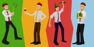Partido de trabalhador Ilustração Royalty Free