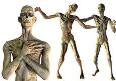Partido de Víspera de Todos los Santos del zombi Imagen de archivo