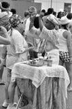 Partido de Yemanjá imagen de archivo libre de regalías