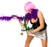 Partido del Año Nuevo imágenes de archivo libres de regalías