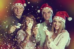 Partido del Año Nuevo Foto de archivo