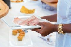 Partido del abastecimiento de la comida fría de la comida Fotos de archivo