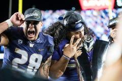 2016 partido del campeonato del NCAA - estadio del ` s de Levi Foto de archivo