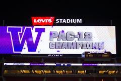2016 partido del campeonato del NCAA - estadio del ` s de Levi Fotografía de archivo