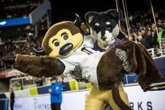 2016 partido del campeonato del NCAA - estadio del ` s de Levi Fotos de archivo libres de regalías