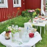 Partido del coffe del verano Imagen de archivo libre de regalías