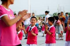 Partido del día de los niños Fotos de archivo libres de regalías
