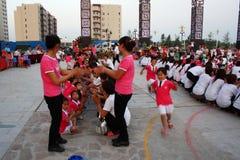 Partido del día de los niños Foto de archivo