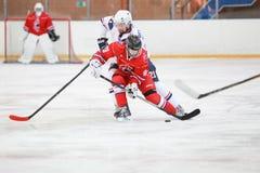 partido del hockey Foto de archivo