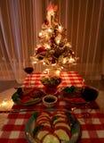 partido del hogar de la Navidad imagenes de archivo
