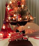 partido del hogar de la Navidad foto de archivo libre de regalías