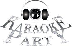 Partido del Karaoke ilustración del vector
