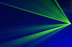Partido del laser Imagen de archivo libre de regalías