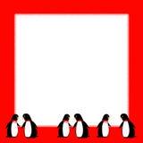 Partido del pingüino ilustración del vector