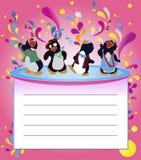 Partido del pingüino Imagen de archivo libre de regalías