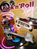 Partido del rock-and-roll Fotos de archivo