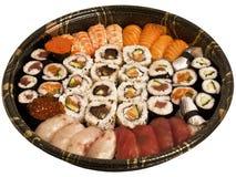 Partido del sushi Imagen de archivo libre de regalías