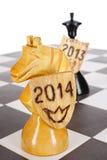 Partido do ano novo Fotografia de Stock Royalty Free