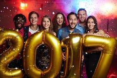 Partido do ano novo Imagem de Stock