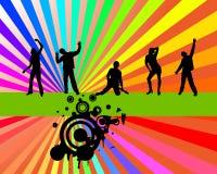 Partido do arco-íris Foto de Stock