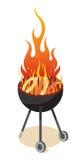 Partido do BBQ Imagens de Stock
