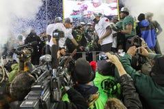 Partido do campeonato 2011 PAC-12 Imagem de Stock Royalty Free