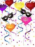 Partido do carnaval Imagens de Stock Royalty Free