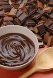 Partido do chocolate. Imagem de Stock