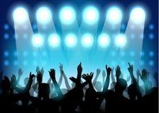 Partido do clube com povos da dança Fotografia de Stock