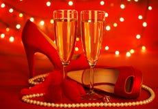 Partido do dia de Valentim Fotos de Stock Royalty Free