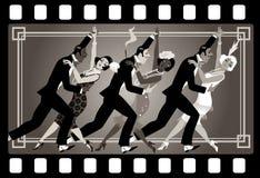 partido do estilo dos anos 20 Foto de Stock