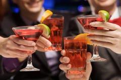 Partido do fim de semana Fotografia de Stock Royalty Free
