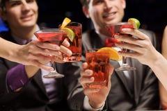Partido do fim de semana Imagem de Stock Royalty Free